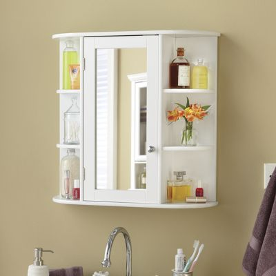 Mirrored Wall Cabinet