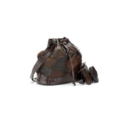 4-Piece Patchwork Bucket Bag Value Set