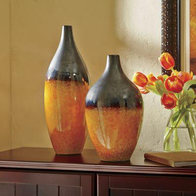 Coahuila Gradient Ceramic Vases