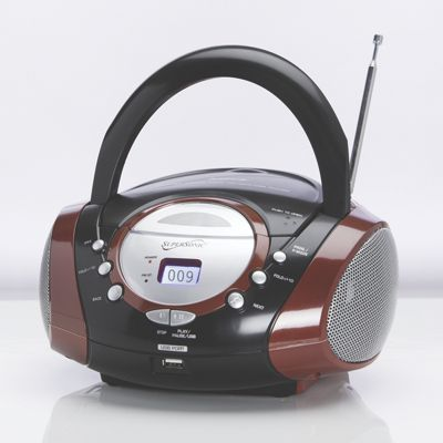 Portable CD/MP3 Player by SuperSonic