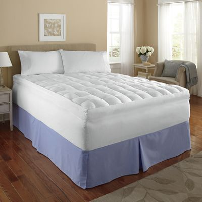 Down-Like Pillowtop Mattress Topper