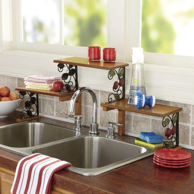 2 Tier Apple Sink Shelf From Seventh Avenue D7717348