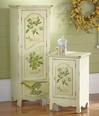 Hand-Painted Cabinet