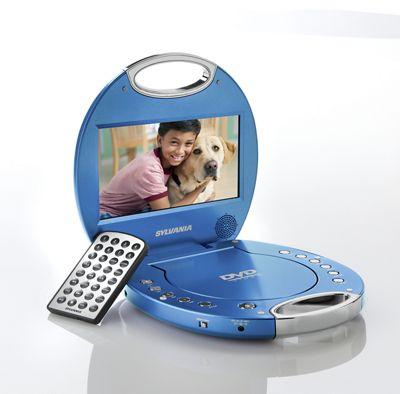 Portable DVD Player by Sylvania