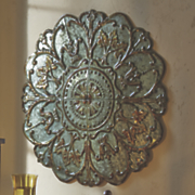 Metal Medallion Wall Art Enchanting Wall Accents Metal Wall Art Modern Wall Décor Signs  Midnight Review