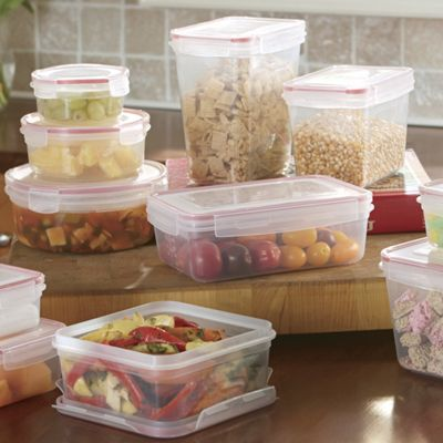 24-Piece Lock & Seal Containers