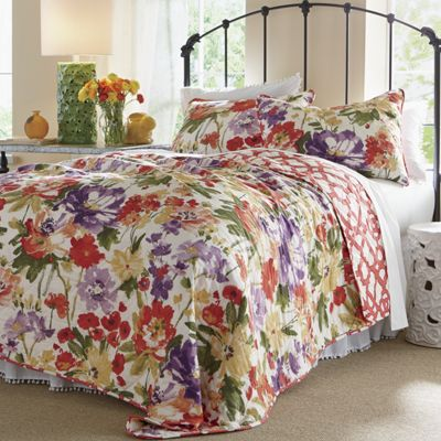 Wildflower Oversized Quilt and Sham