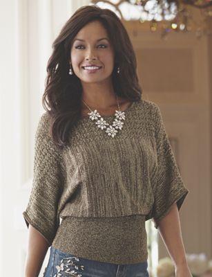 Etta Pointelle Sweater