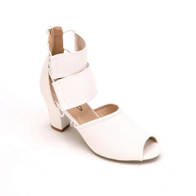 Double Ankle Strap Shoe By Midnight Velvet From Midnight