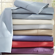 Ginny's Brand 600-Thread Count Cotton Blend Sateen Sheet Set