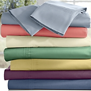 ginny s brand 300 thread count cotton percale sheet set