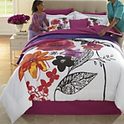 ginny s brand jewel flower comforter set 2