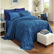 damask chenille bedspread