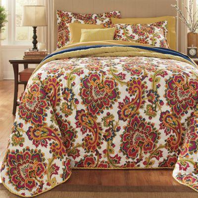 Lillie Bedspread Set & Window Treatments