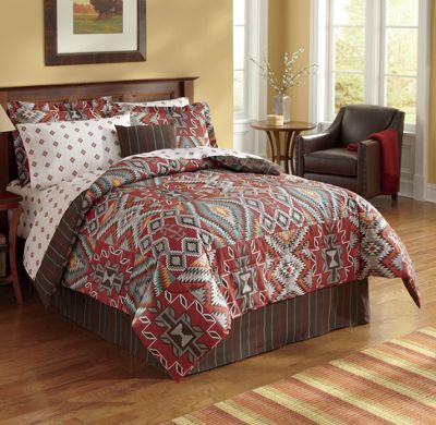 Sedona Complete Bed Set & Window Treatments