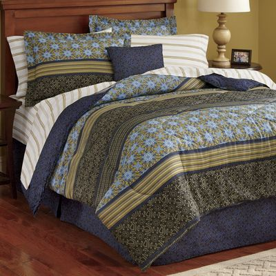 Kampala Complete Bed Set & Window Treatments