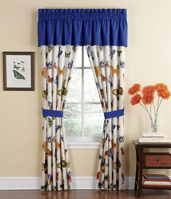 Butterfly Paradise Window Treatments
