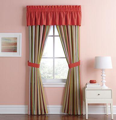 Bright Stripe Window Treatments