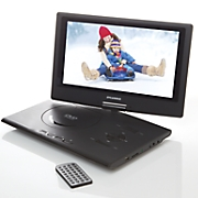 13 inch portable dvd player with swivel screen by sylvania