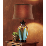 glazed ceramic table lamp 76