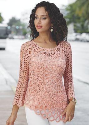 Side Sweep Sweater