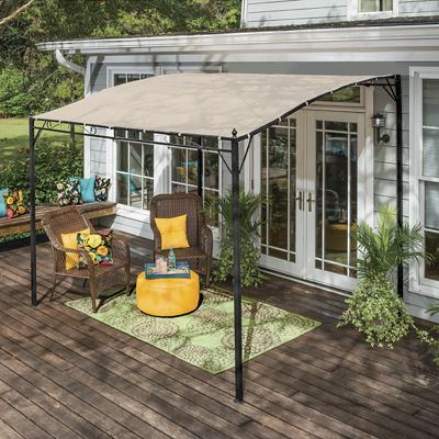 Sunshade Awning Gazebo From Seventh Avenue Di719440