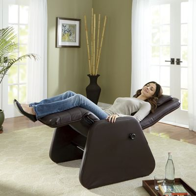 Full-Recline Zero Gravity Chair with Heat and Massage from Seventh ...