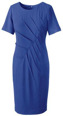 Zelda Tuck-Pleated Dress