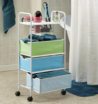 Rolling Bath Storage Cart From Seventh Avenue 719724