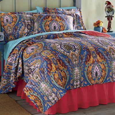 Costa Del Sol Bedding and Window Treatments