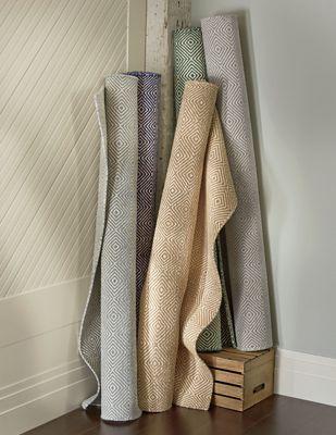 Diamond Flat-Weave Rug