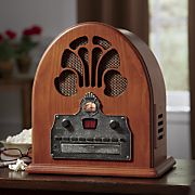 crosley cathedral classic am fm cd player