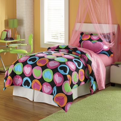 Reversible Crazy Dots Mini Comforter Set