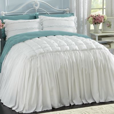 Cottage Skirted Coverlet Collection