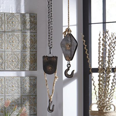 Decorative Block and Tackle