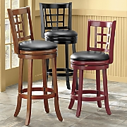 Lattice-Back Stools