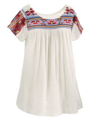 Embroidered Cabo Tunic