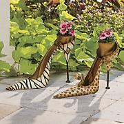 high heel planter
