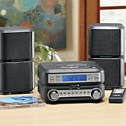 Digital CD Micro System with AM/FM Radio by Naxa