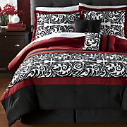 Ambrosia 10-Piece Bed Set and Window Treatments