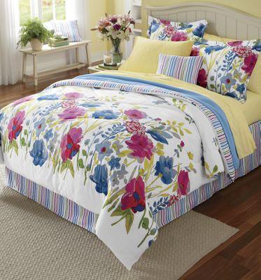 Ginny's Brand Garden Floral Comforter Set