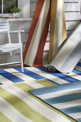 cabana stripe rug cabana stripe indoor outdoor rug from through the country 1900