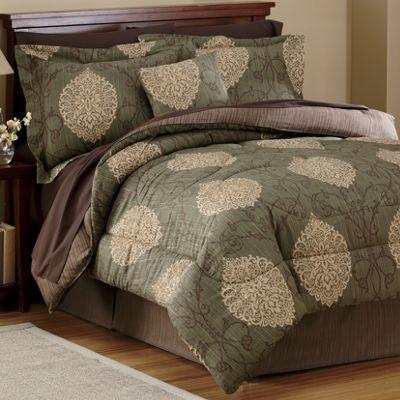 Surat Comforter, Decorative Pillow and Window Treatments