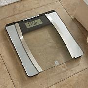 weight watchers glass body analysis scale 16