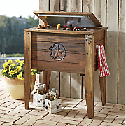 Rustic Deck Cooler