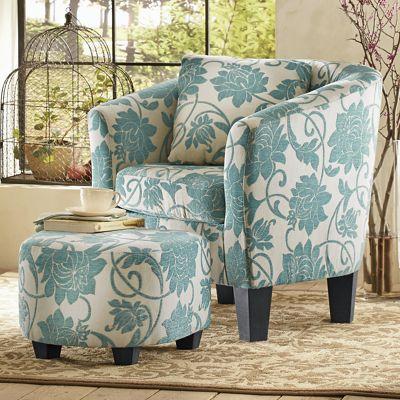 Crestview Accent Chair Amp Ottoman From Midnight Velvet
