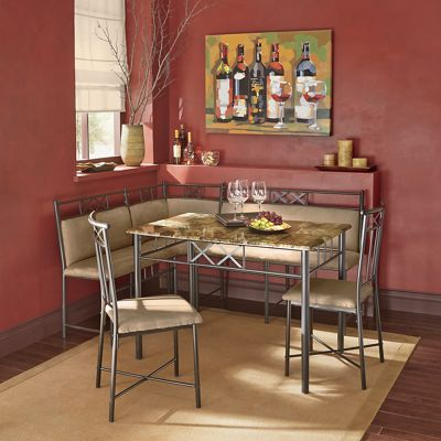 Rivercourt Dining Nook And Chair From Seventh Avenue