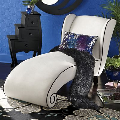 Claudette Curved Lounge Chair from Seventh Avenue 722726