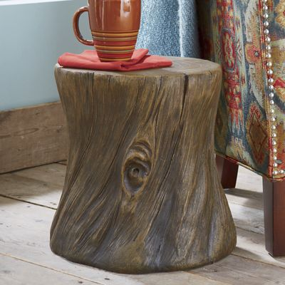 Roy's Faux Wood Stool