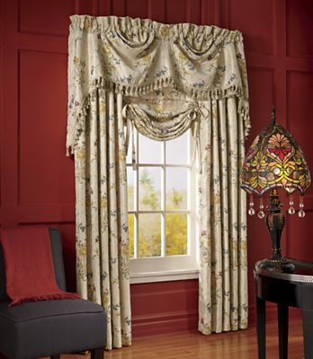 Jewel Embroidered Window Treatments